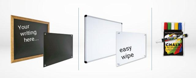 Black Boards & White Boards