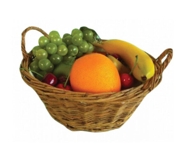 Assorted Fruit In A Basket