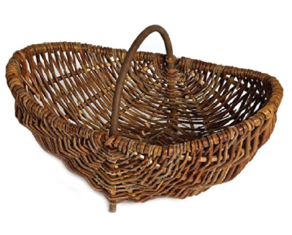 Rustic Wicker Trug