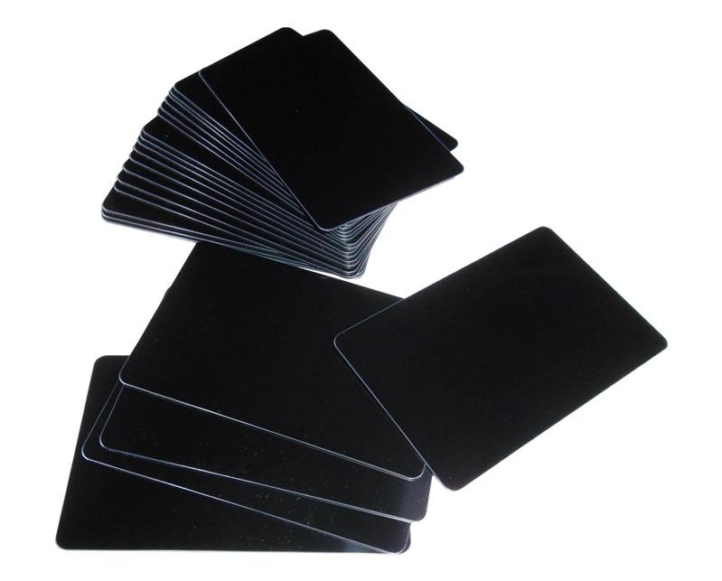 Blank Black Cards