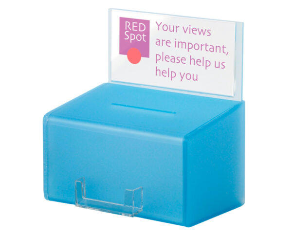 blue comments box