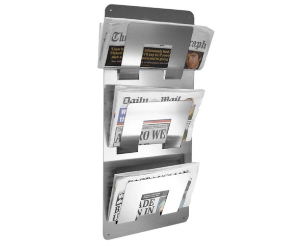 steal newspaper rack