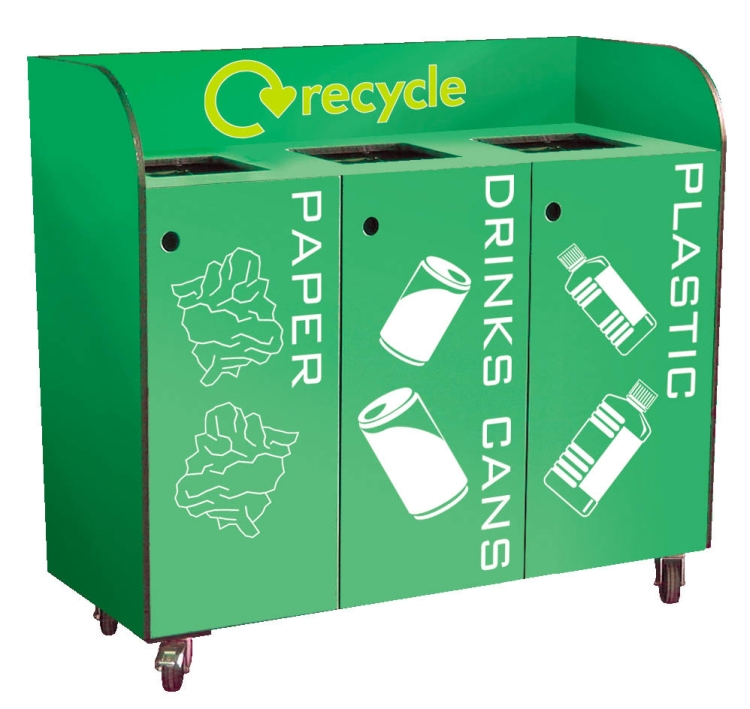 Condiment Stations & Recycling Solutions