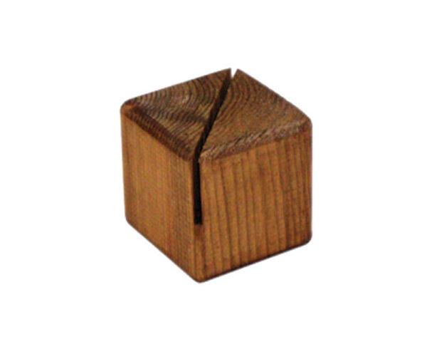 Wood Block Holder