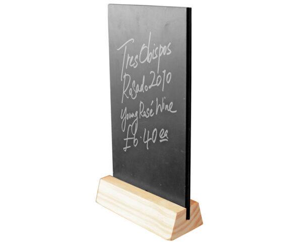 table top chalk board