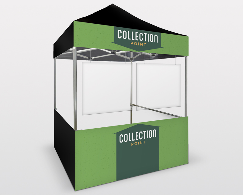 Collection Pop Up Stall