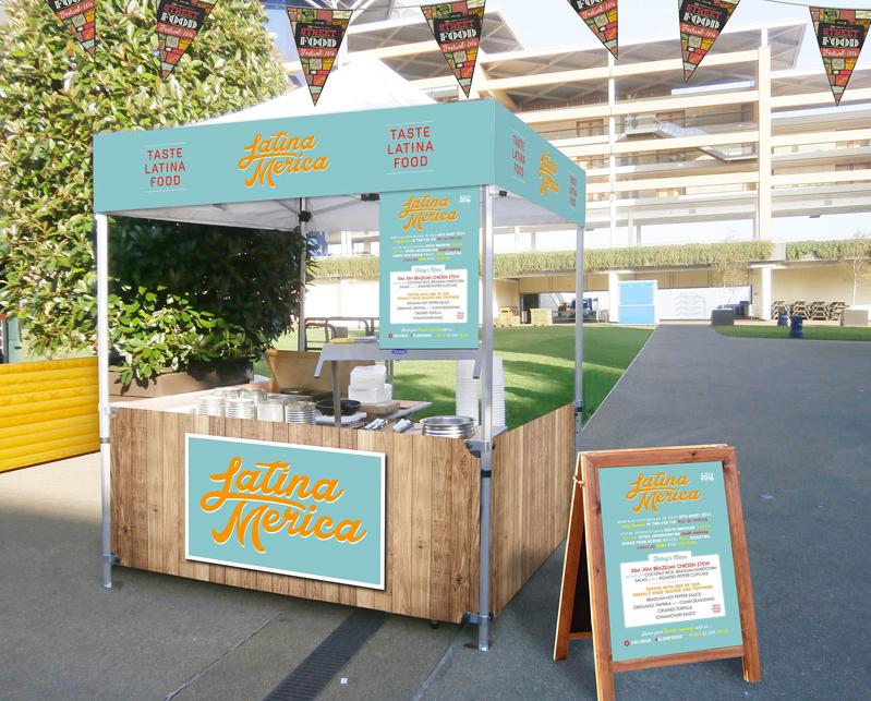 Latina Food Stall