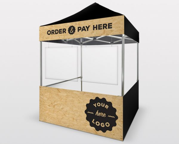 Order & Pay Pop Up Stall