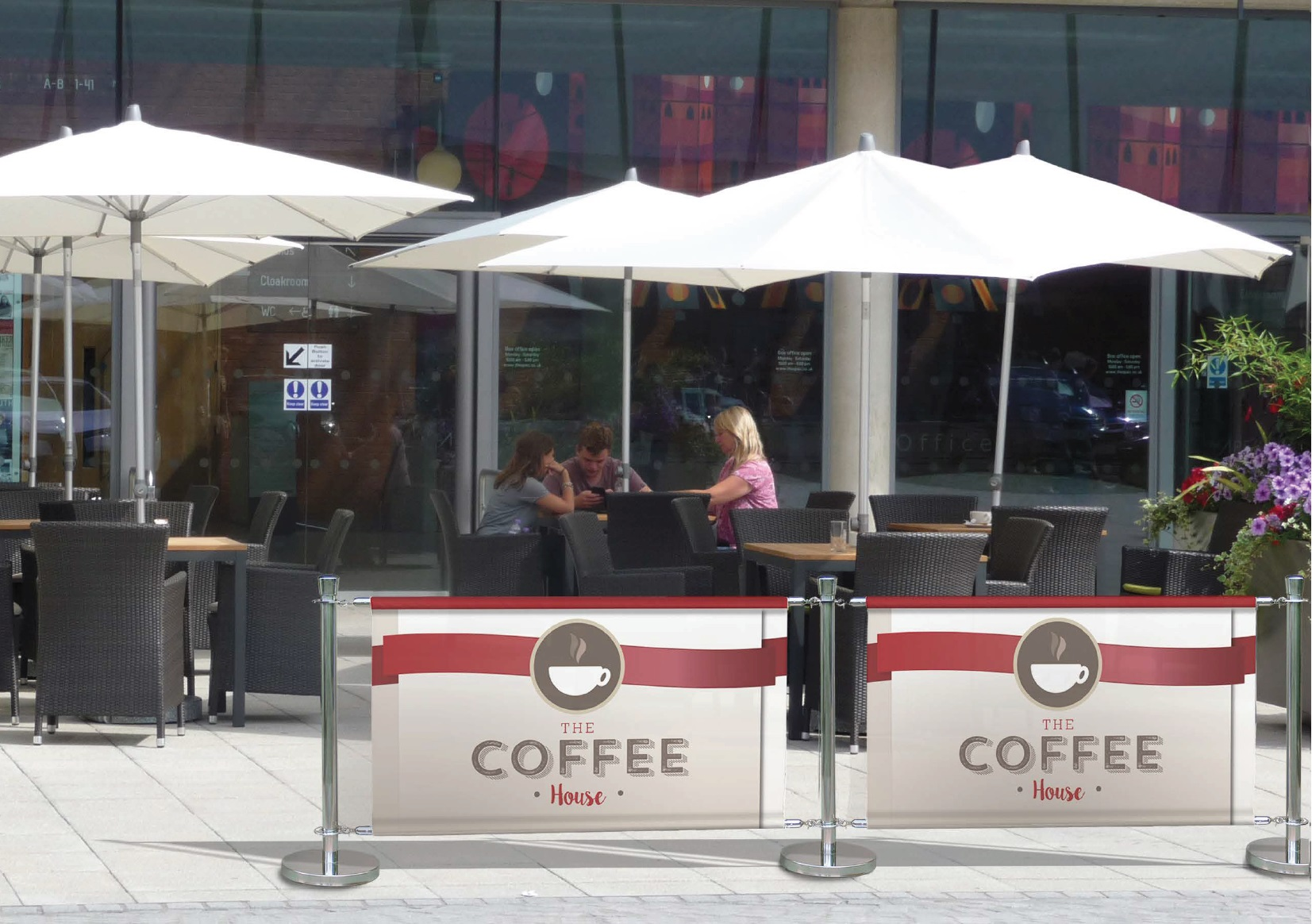 Cafe Barriers Premium Range Barriers Amp Screensbarconwood
