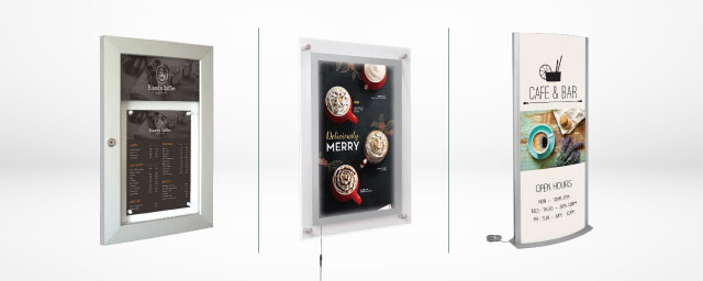 Light Boxes and Show Cases