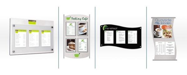 Menu & Tariff Boards