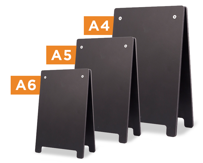 Mini A-Frame Chalkboards