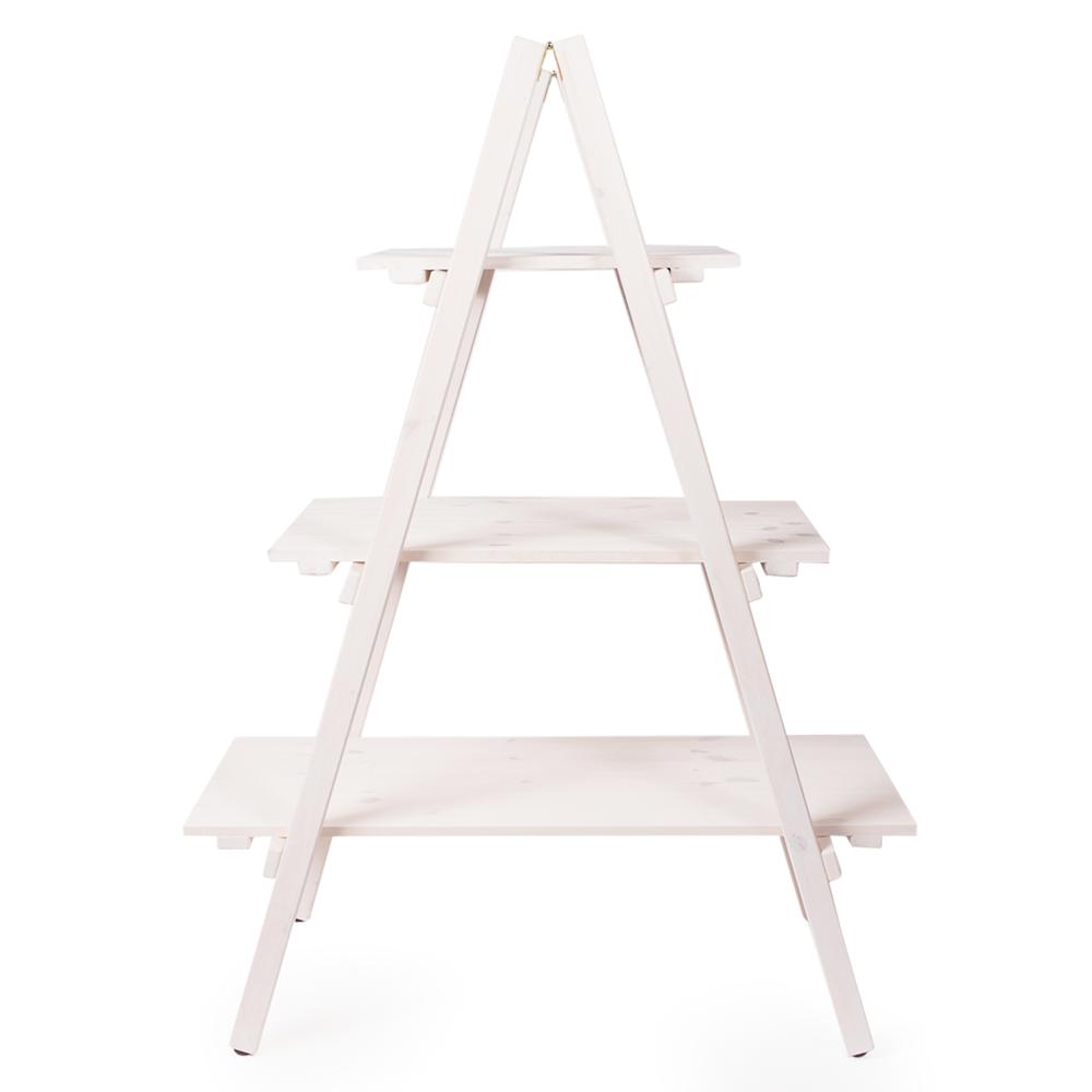 Wooden Ladder Display Display Items Merchandisers Floor