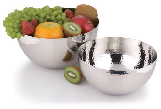 round foil bowl