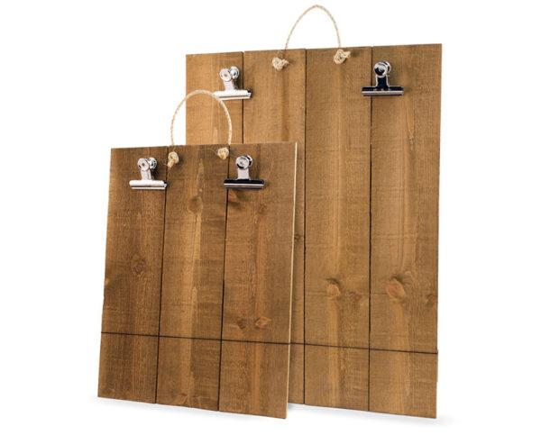 wood clip boards