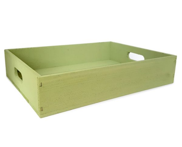 Coloured Tray Crate