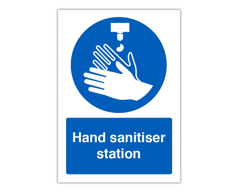 Sanitiser Panel